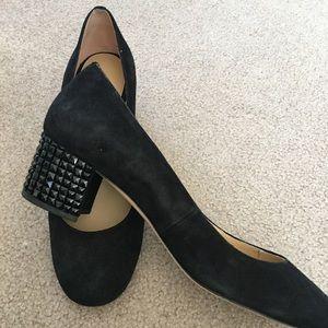 """Michael Kors 2"""" block heel pumps."""